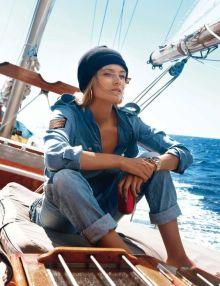Edita Vilkeviciute par Gilles Bensimon pour Vogue Paris mai 2013 - vogue.fr