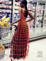 Fresh produce: dominique and adau mornyang by damon fourie for elle south africa july 2014 - visualoptimism.blogspot.fr