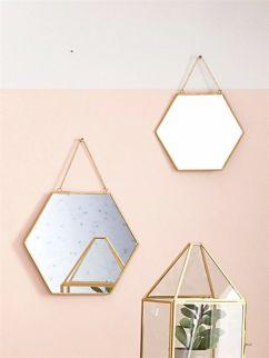 Miroir doré par lot de 2 - €19.90 - cyrillus.fr