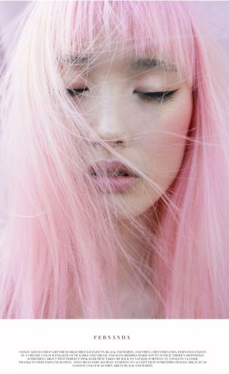GirlCrush: Fernanda Ly - bluddyholly.tumblr.com