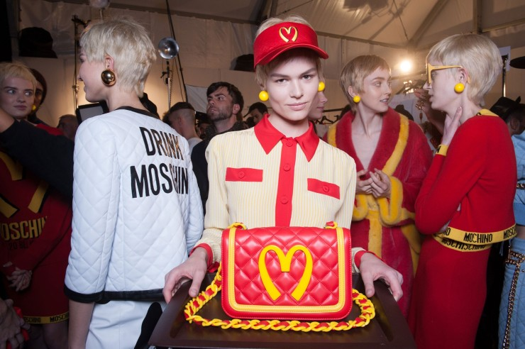 Moschino Fall 2014 Photo by Greg Kessler | W Magazine - wmagazine.com