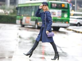Navy chic street style stefano coletti - o.nouvelobs.com