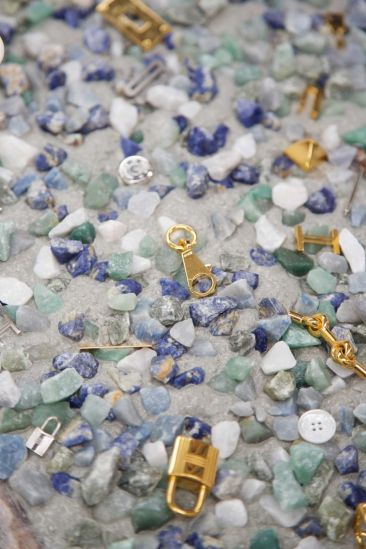 Terrazzo Hermès Atelier petit h, a multi-coloured pattern of concealed treasures - pinterest.com