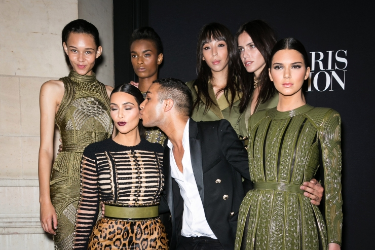 Balmain Army - Vogue Foundation Gala Arrivals - Paris Fashion Week : Haute-Couture Fall/Winter 2014-2015 - Photo by Richard Bord/WireImage - stylecaster.com