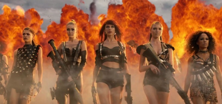 Bad blood - Taylor Swift - capture - youtube.com