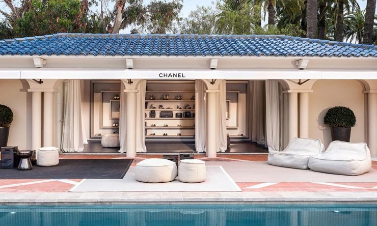 Chanel's 2016 pop-up boutique in Saint-Tropez - vogue.com