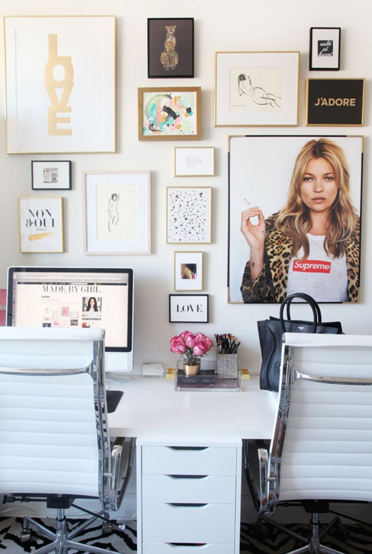 Jen Ramos of Made by Girl Shares Her Home Office Decoration - glamour.com