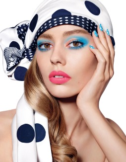 Dior MakeUp - Milky-Dots - Ondria Hardin by Richard Burbridge - dior.com