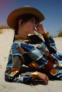Isabeli Fontana by Cédric Buchet for ELLE France, august 2015 - fashiongonerogue.com