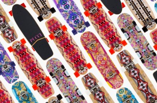 Emilio Pucci skateboard - misswhirlwind.com
