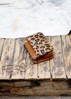 Sac Mini Leopard Abelle - Collection Printemps Été Sezane - sezane.com