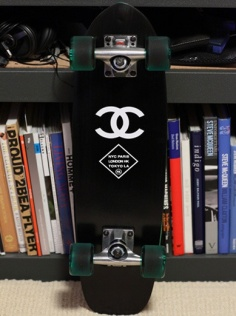 Skateboard chanel - pinterest.com