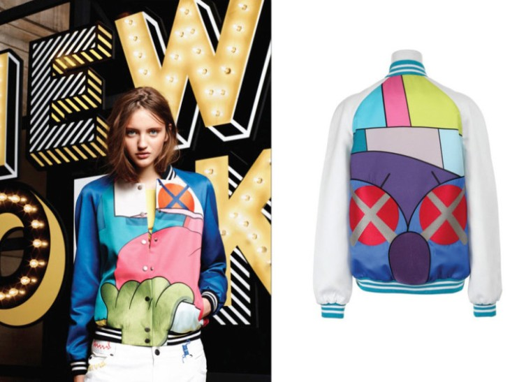 Mira Mikati collaborates with Kaws - vogue.com