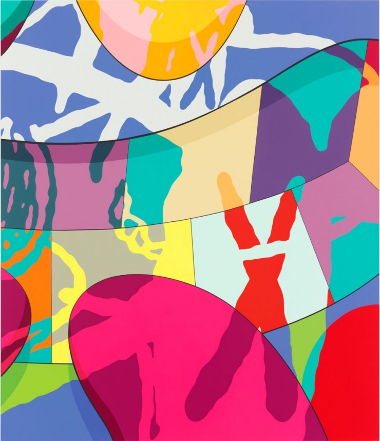 KAWS, Flight Time, 2015 - newcombartmuseum.tulane.edu