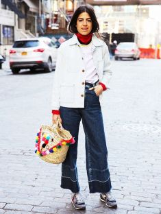 Leandra Medine on whowhatwear.com