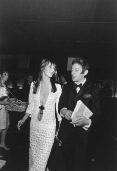 Pictured with Serge Gainsbourg at the Gala de l'Union des artistes - 1969 - Picture : Getty - asos.com
