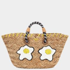 Anya Hindmarch fried eggs basket - anyahindmarch.com