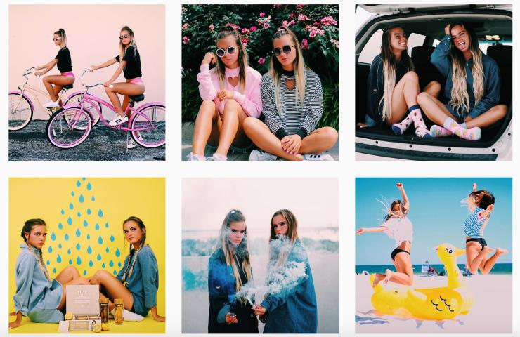 Tess and Sarah - Instagram @tess_and_sarah
