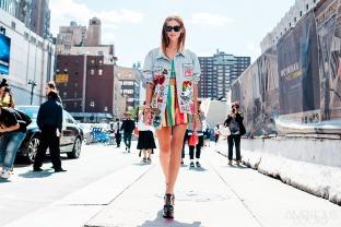 Chiara Ferragni - NYFW SS16 Day 4 Street Style Jeremy Scott - ambitieuse.paris