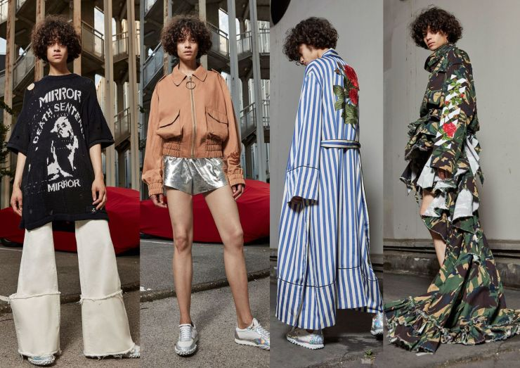 OFF-WHITE spring 2017 womenswear resort Collection - hkteatime.com.hk