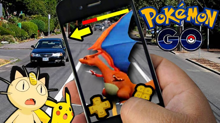 Pokemon Go à l'origine d'accidents de voiture