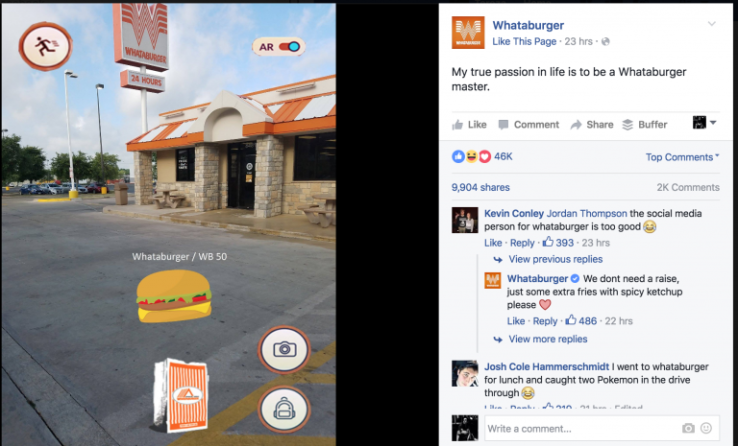 Pokemon Go @Whataburger