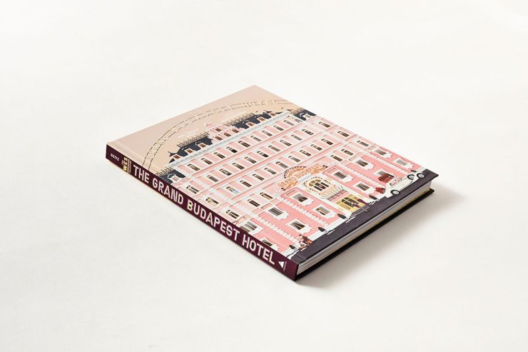 The Wes Anderson Collection : The Grand Budapest Hotel - By Matt Zoller Seitz - Ed. Abrams Books - $35.00 - abramsbooks.com