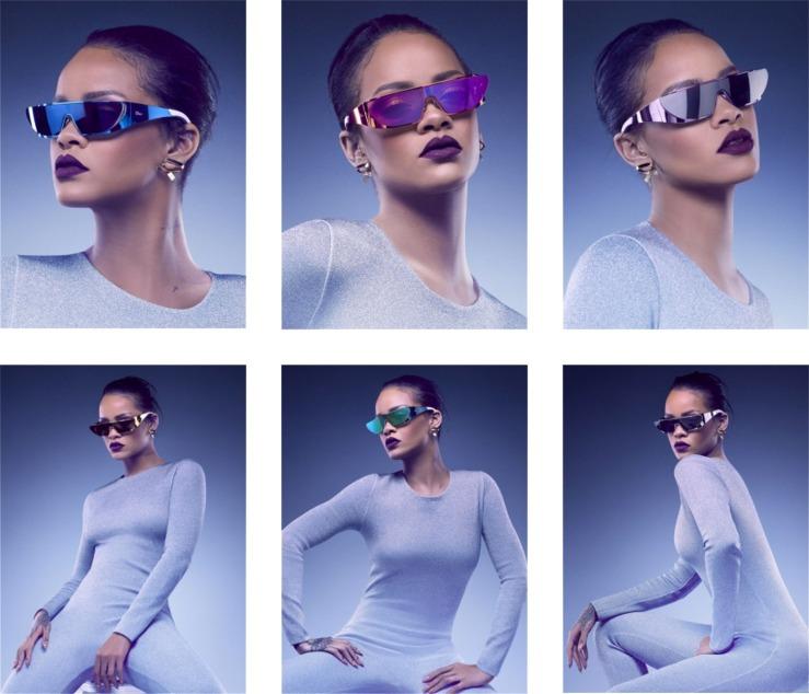 Dior Rihanna sunglasses - Photographer Jean-Baptiste Mondino