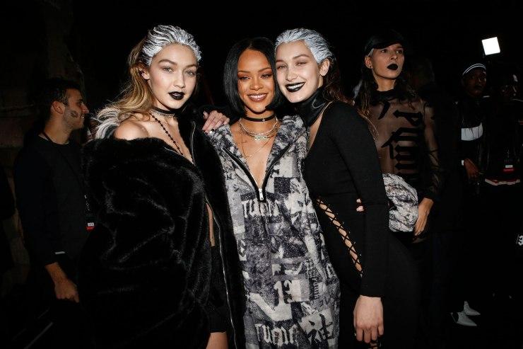 Gigi & Bella Hadid - Rihanna - Fenty x Puma