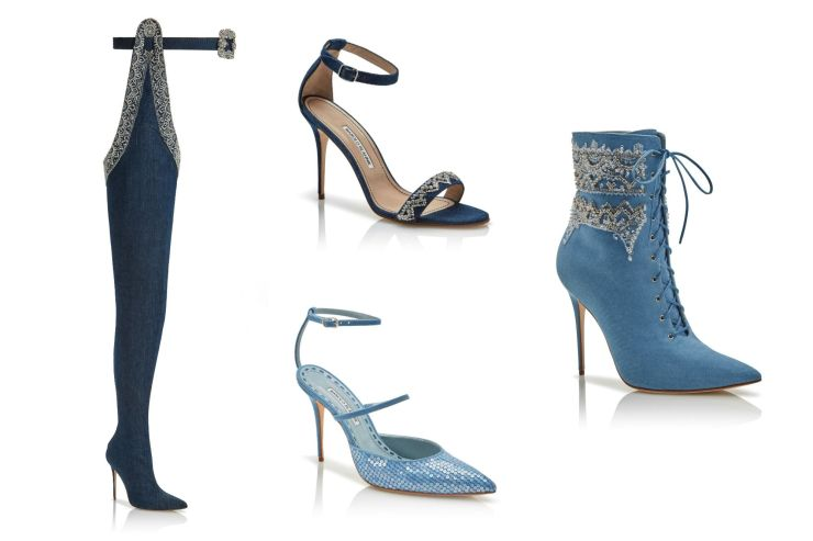 Rihanna X Manolo Blahnik collection