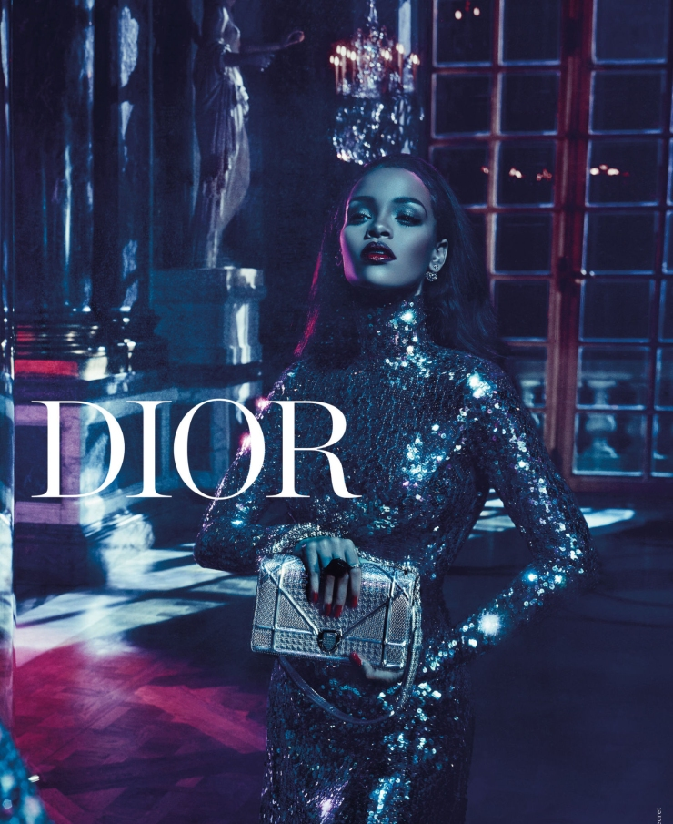 Rihanna - Dior Campaign Secret Garden