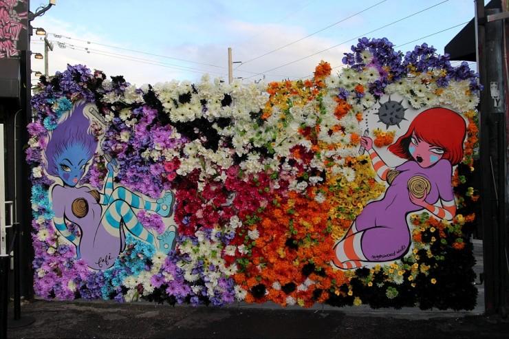 Wynwood Walls - Fafi - Miami - Eleonore Terzian - eleonoreterzian.com