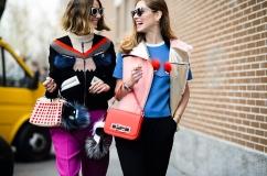 Milan Street style fashion week Chiara Ferragni Fendi