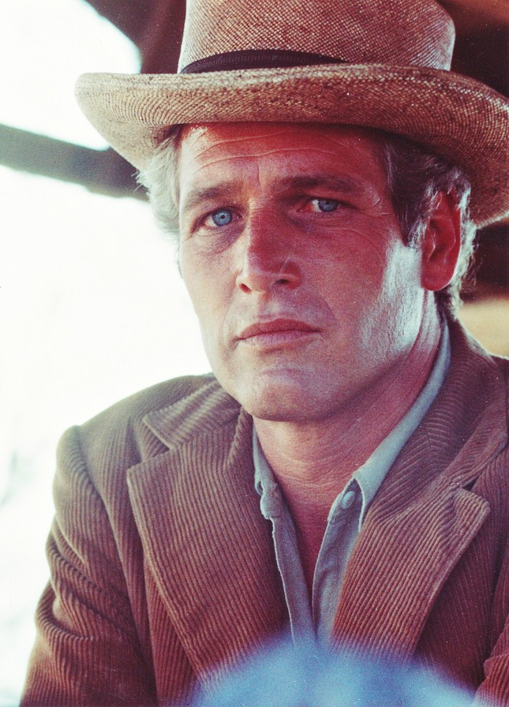 Paul Newman - Butch Cassidy and the sundance kid set hat - eleonoreterzian.com