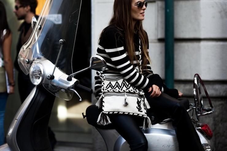 Shotbygio George Angelis -Carlotta Oddi Milan fashion week - SS 2016 street style - shotbygio.com