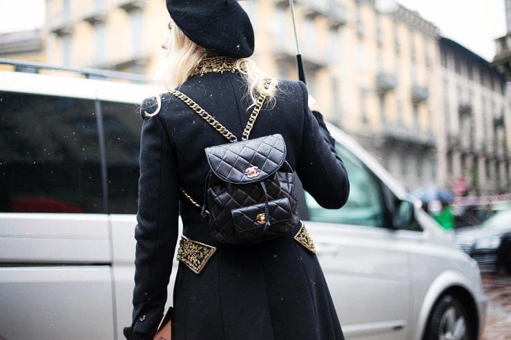 Street style - Chanel backpack - Eleonore Terzian Blog - eleonoreterzian.com