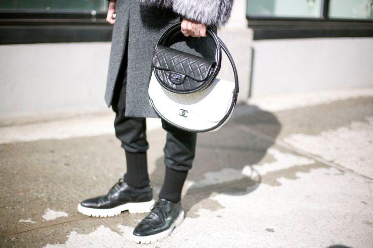 Syarhi Chanel - Mini Hoola Hoop Bag - NYFW - Eleonore Terzian Blog - eleonoreterzian.com