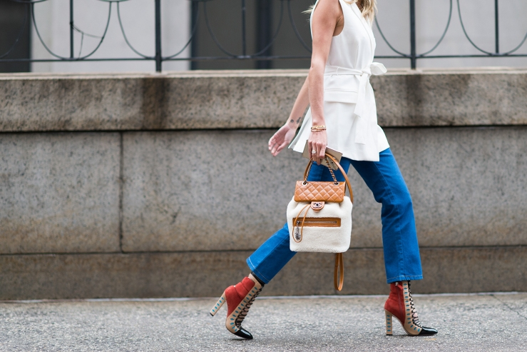 Chanel Backpack - Street style - Eleonore Terzian Blog - eleonoreterzian.com