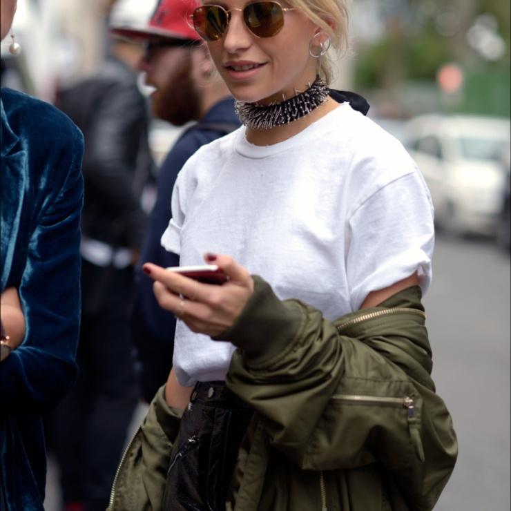 Caroline Daur - Choker necklace - eleonoreterzian.com