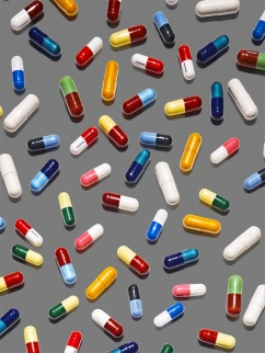 James Day coloured pills
