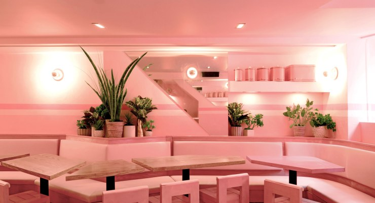 Pietro Nolita's all-pink interior - New York - architecturaldigest.com