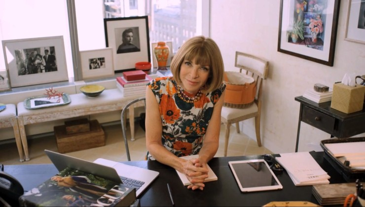 Anna Wintour - Morning Routine on Eleonore Terzian Blog - Photo by shipmatica.com