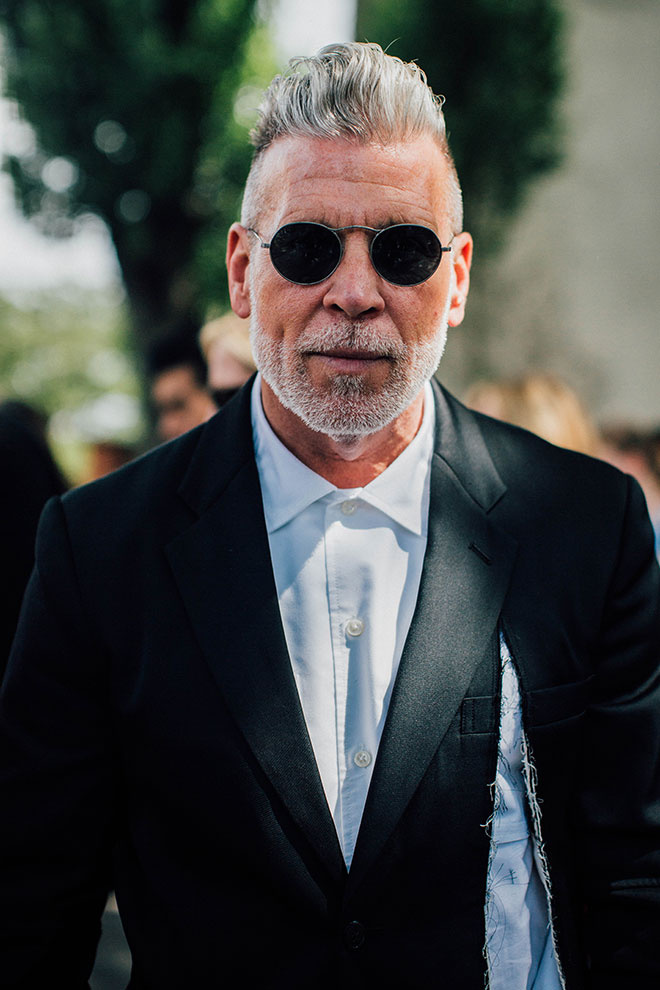 Nick Wooster - Fashion Week homme printemps-été 2017 de Paris - Vogue