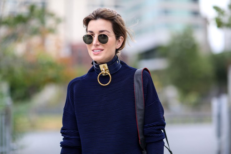 Street style - Choker necklace - eleonoreterzian.com