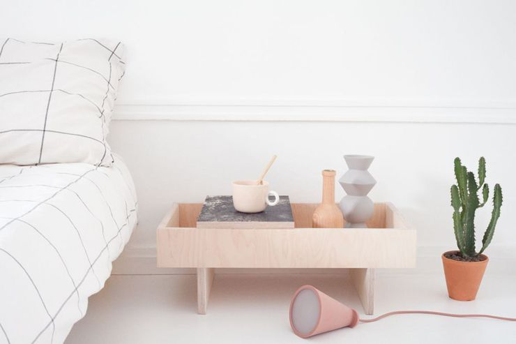 Table Té en bois en bois de bouleau - cotemaison.fr