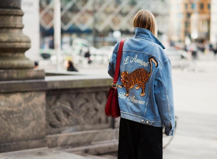 Gucci street style - l'aveugle par amour jacket