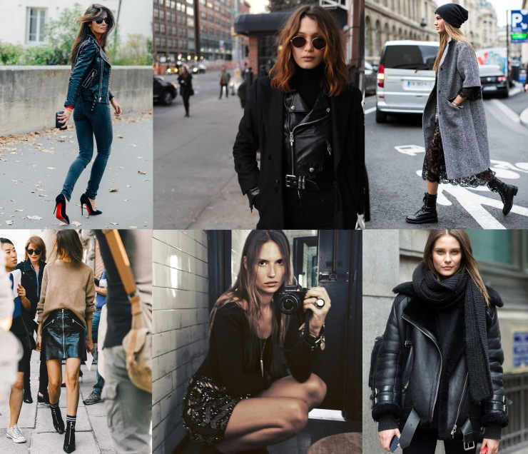 Black rock chic trend - Eleonore Terzian Blog Collage - eleonoreterzian.com