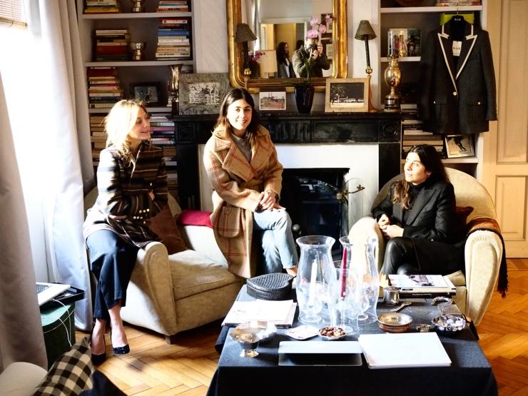 Maria Sole Torlonia, Corrada Rodriguez d'Acri et Delfina Pinardi - Blazé - bacoluxury.com