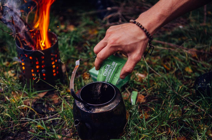 Chaga Mushroom Elixir Mix - Instagram Four Sigmatic - @foursigmatic