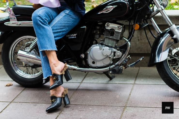 Elina Halimi - Tbilisi - Gucci shoes - jaiperdumaveste.com
